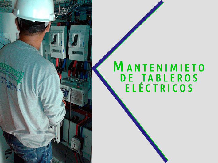 Mantenimiento tableros electricos